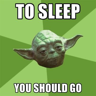 spať ty ísť mal si by
