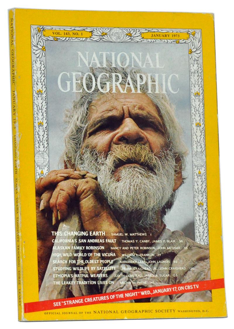 Číslo časopisu National Geographic, ktoré prinieslo článok o hľadaní receptu na dlhvekosť.