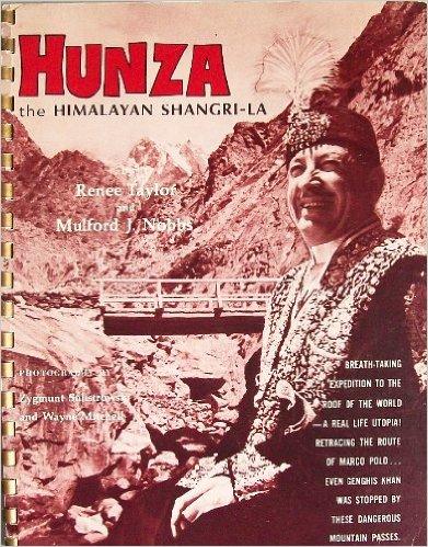 Kniha prirovnávajúca oblasť  Hunzy k bájnemu mestu Shangri-La