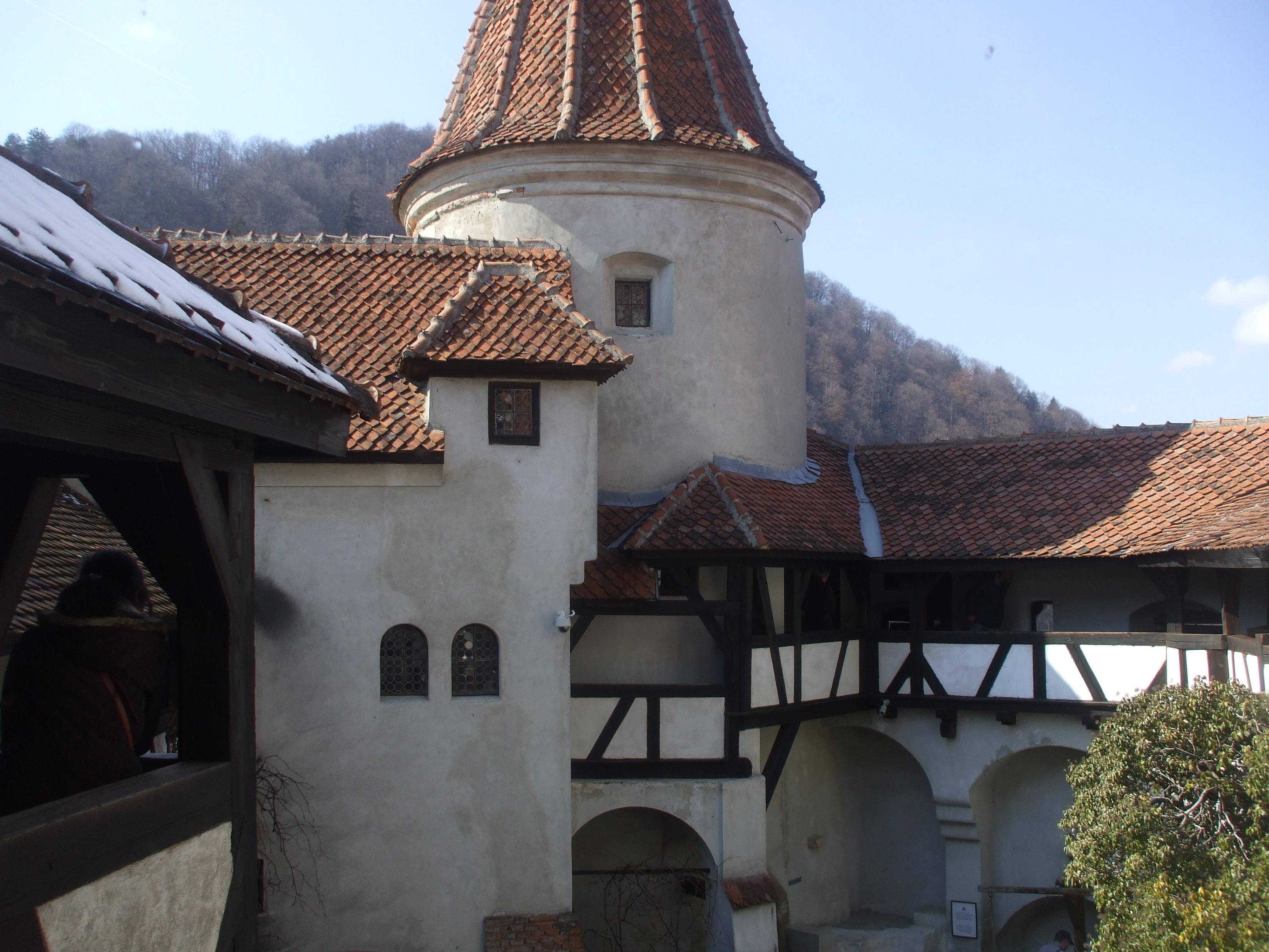 Draculov hrad Soňu príliš neočaril.