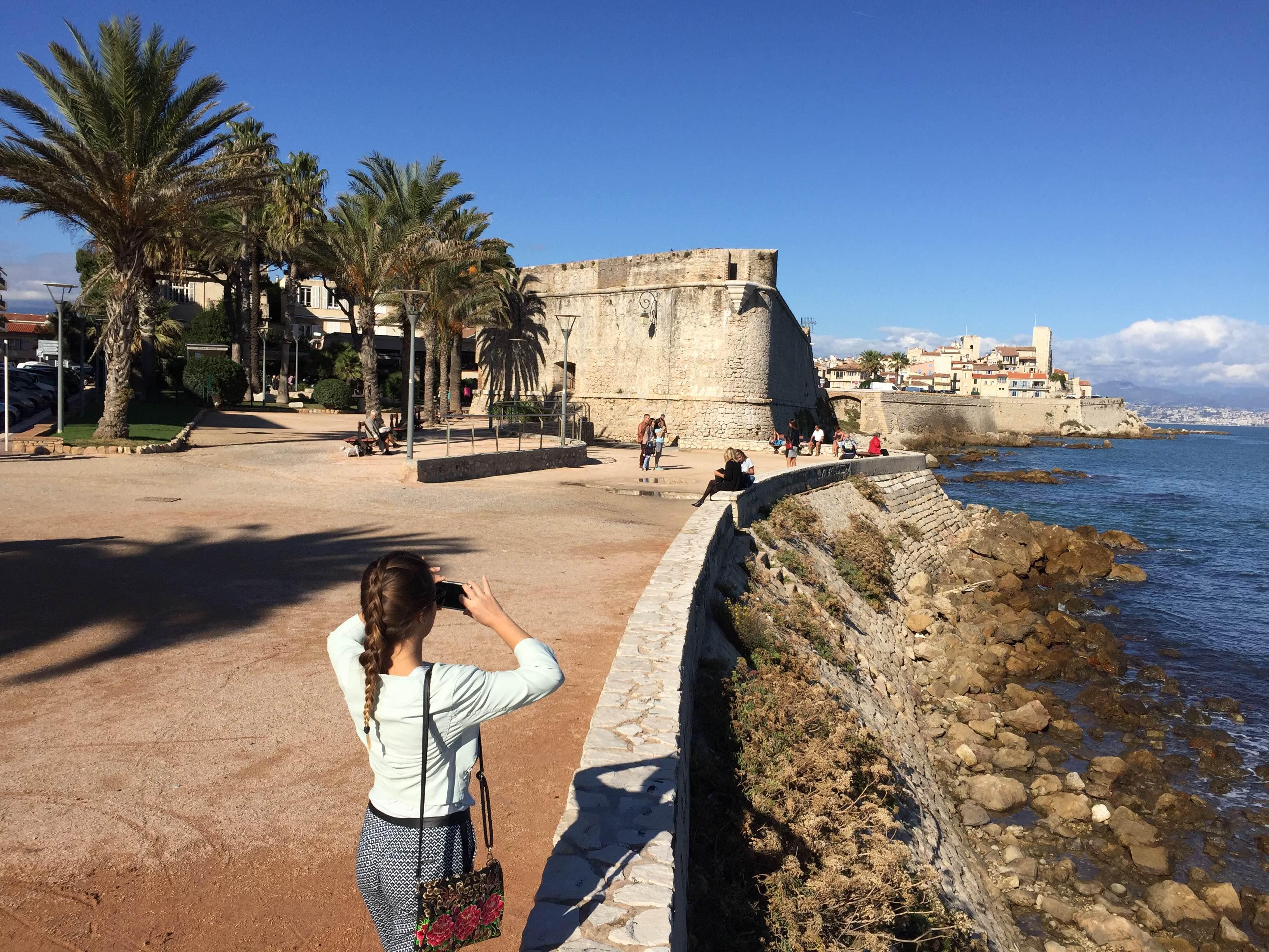 Dominantou Nice je slnečné počasie (zdroj: Lucia Pálová).