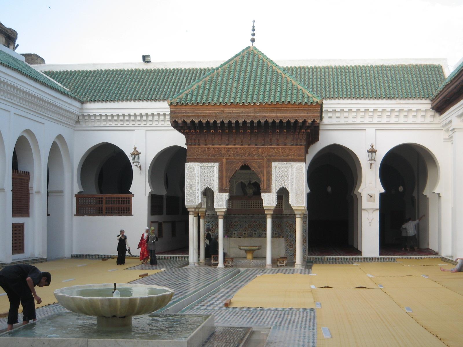 Univerzita al-Qarawiyyin v meste Fez.