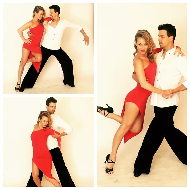 S tanečnou kolegyňou Katkou Štumpfovou. Zdroj foto: Instagram.com @katkastumpfova