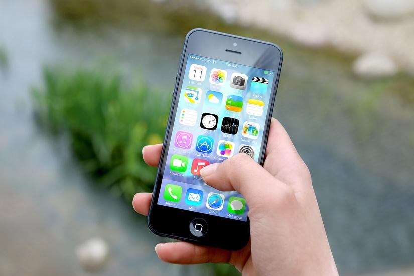 mobil s aplikáciami