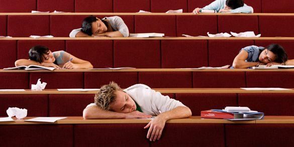 prečo študenti blicujú