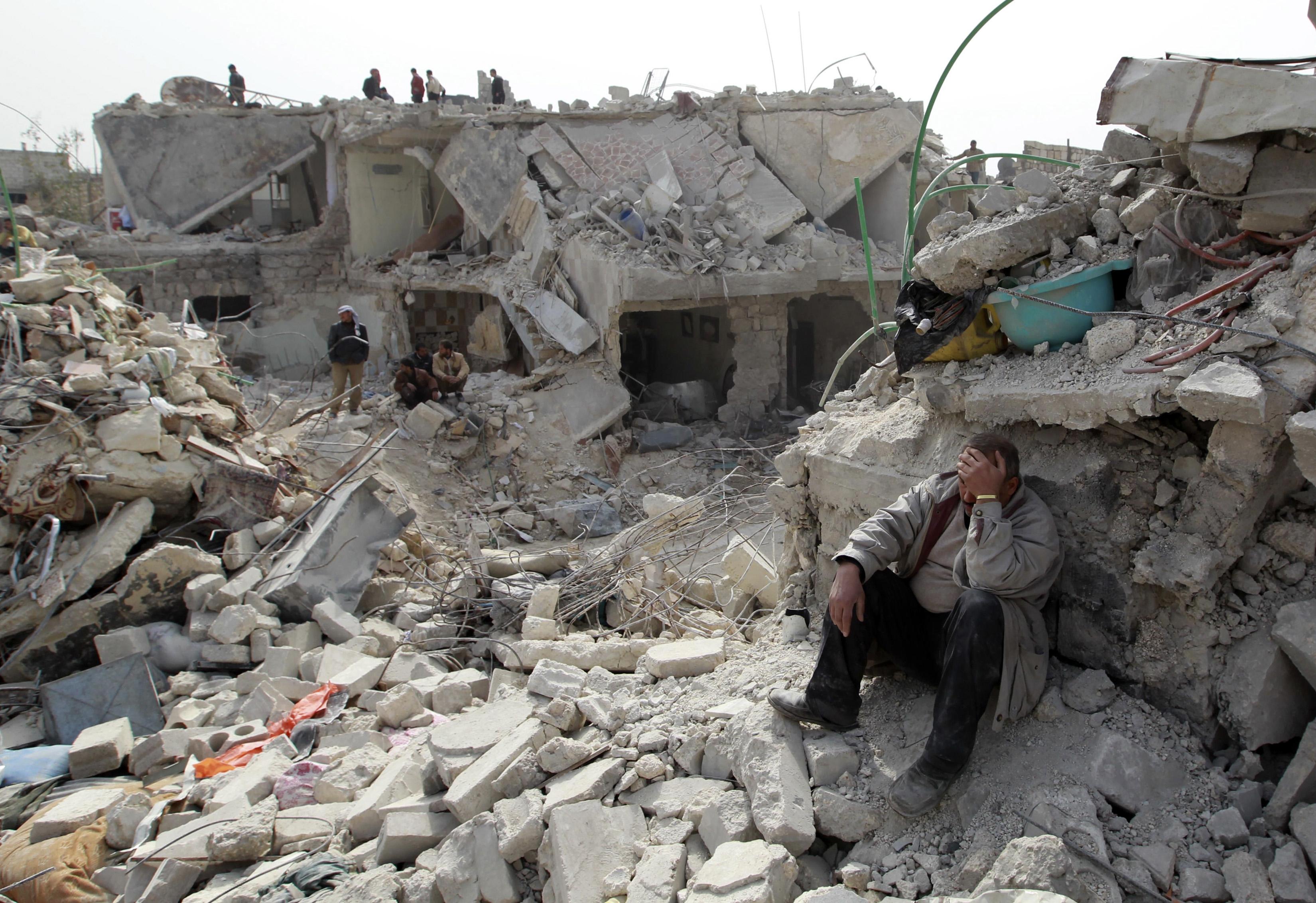 Vojna v Sýrii vyzerá aj takto (zdroj: Reuters)