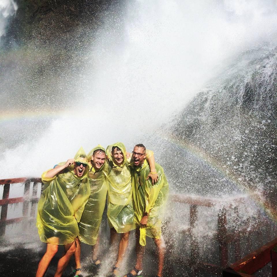 Michalov nezabudnuteľný zážitok: Niagarské vodopády. (Zdroj: archív M.K.)