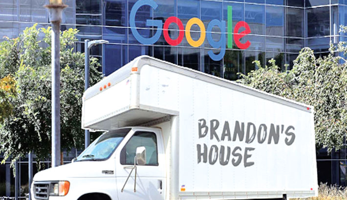 google bývanie parkovisko