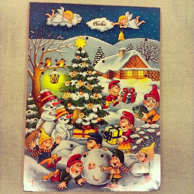 adventný kalendar