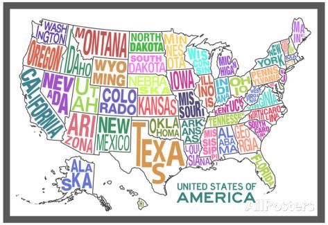 Ktorý štát by si si vybral/a ty? Zdroj: allpostersimages.com