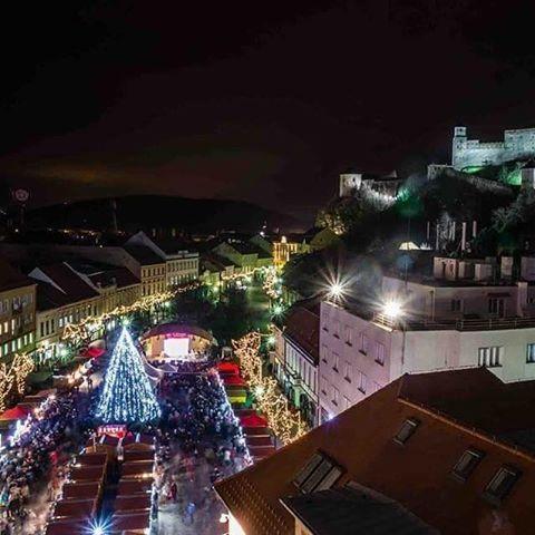 vianočné trhy trenčín 2015