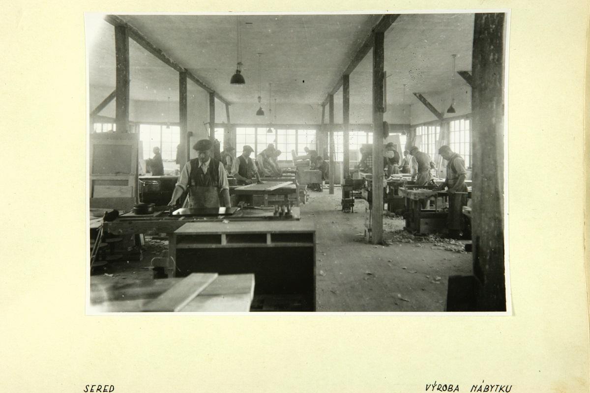 stolárska dielňa, foto SNM - Múzeum židovskej kultúry