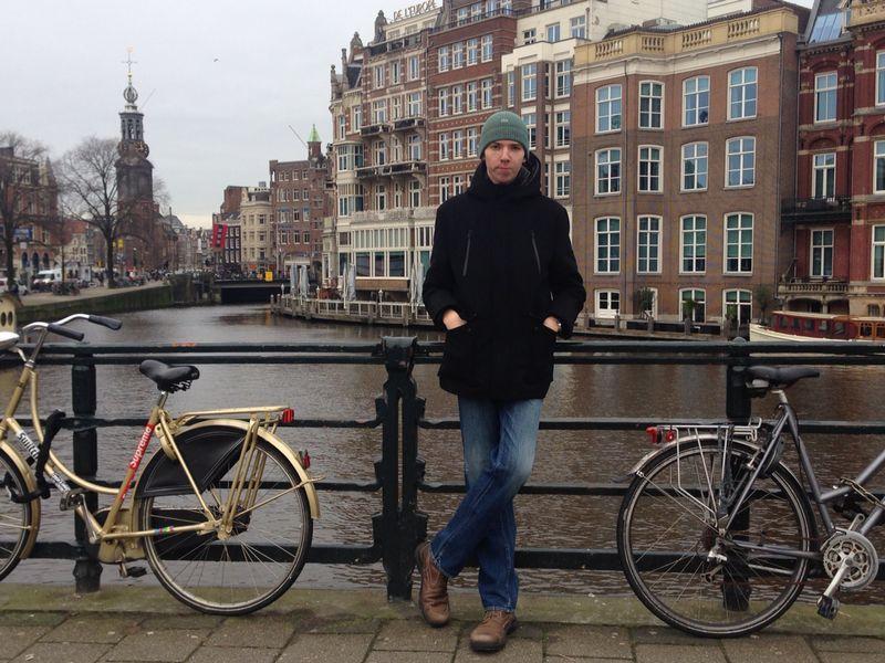 Martin v Amsterdame. Zdroj: instagram (@martindurica)