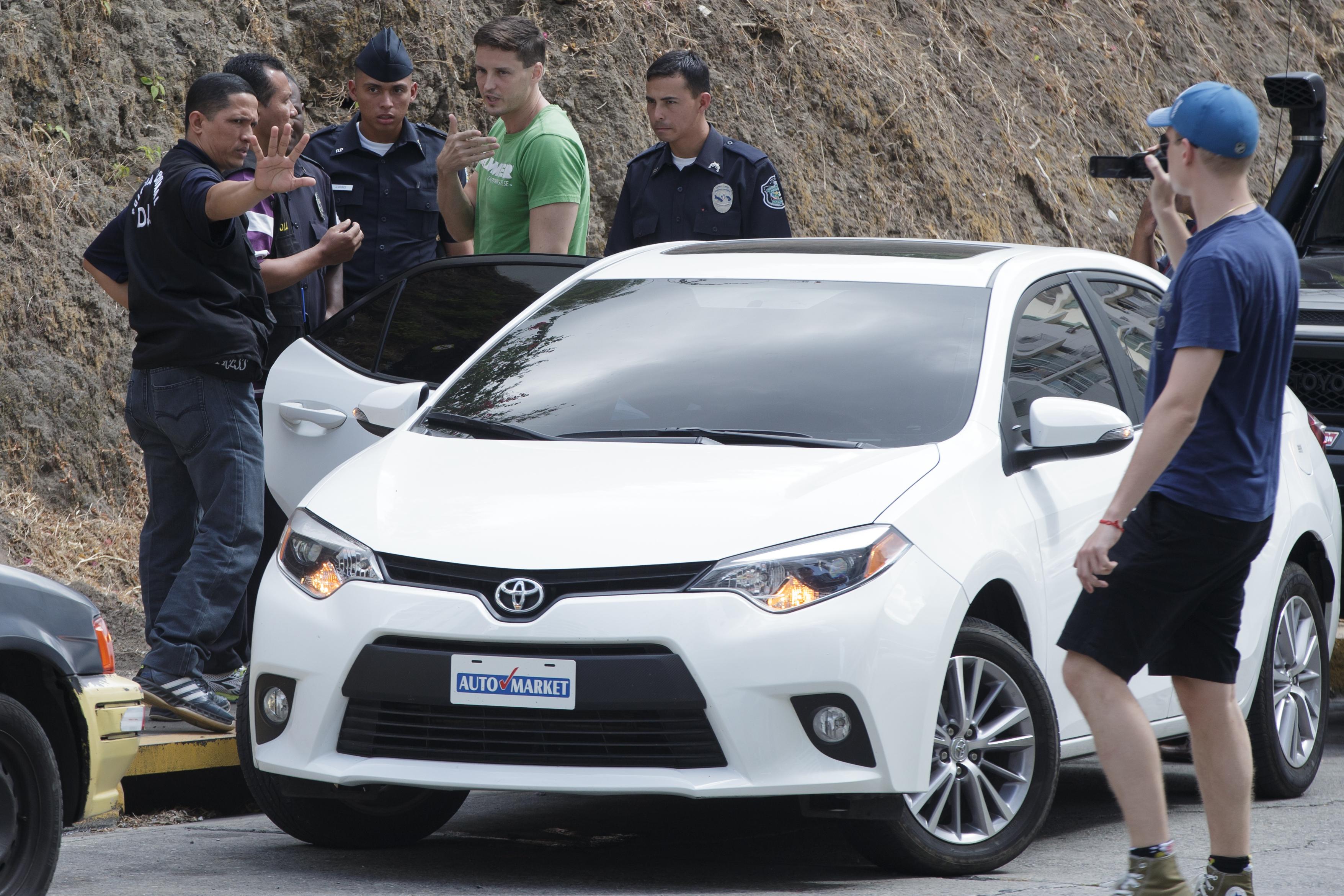 Polícia zatýka Gajdára. Zdroj: Nový Čas