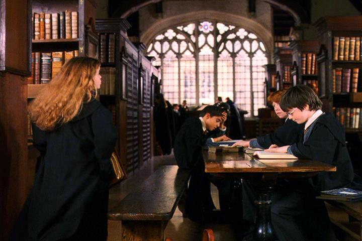 Ukážka scény z filmu Harry Potter. Zdroj: goodreads.com