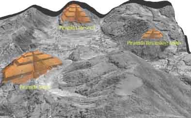 Údajné pyramídy. (Zdroj: helios.acomp.usf.edu)