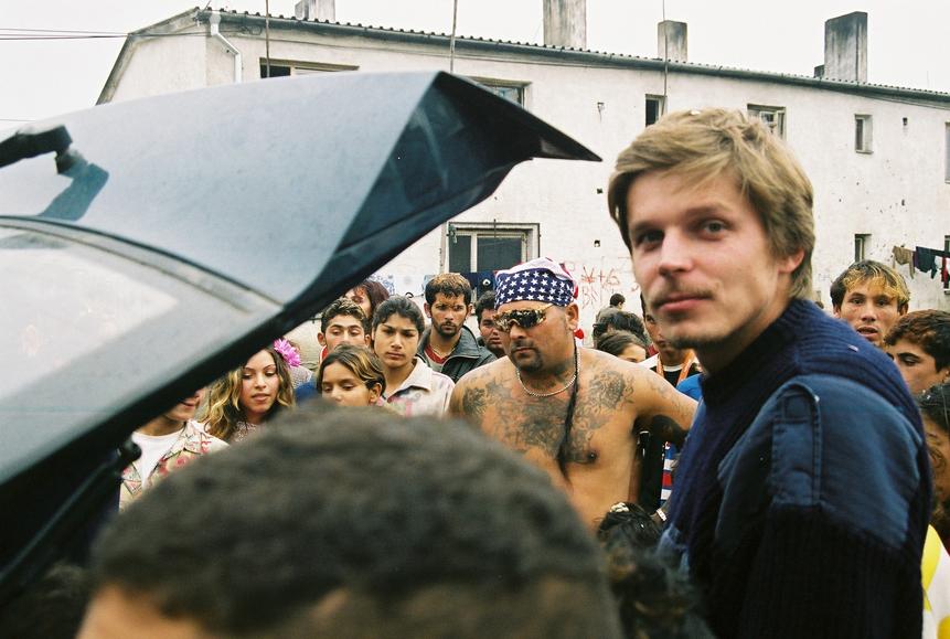 Marko Škop počas nakrúcania filmu Iné svety (2006). Zdroj: Artileria.sk