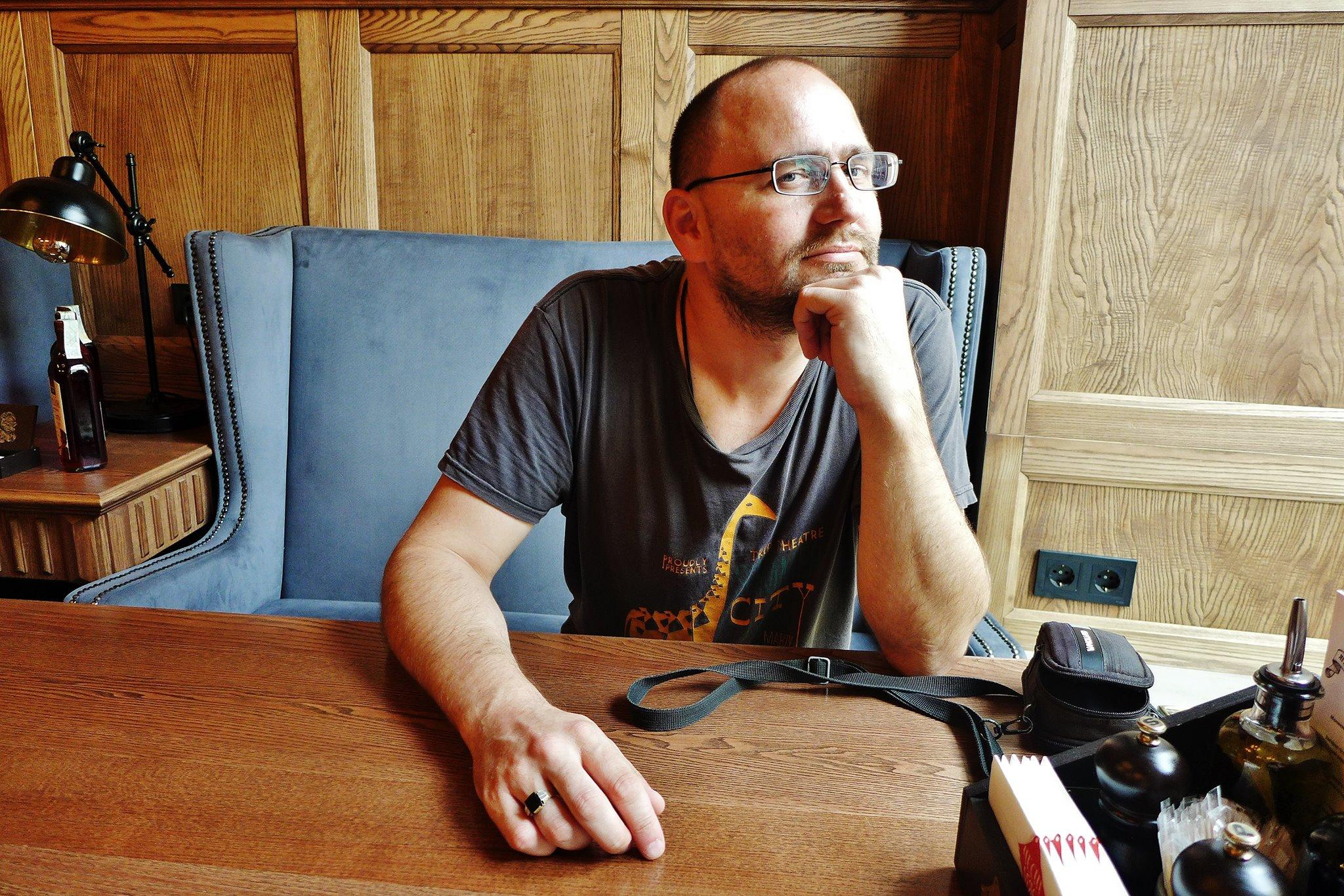 Peter Krištúfek: Mám zásadu tvoriť predovšetkým sám pre seba