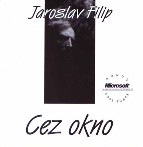 Obal albumu Cez Okno, ktorý obsahoval interaktívnu multimediálnu stopu pre PC.