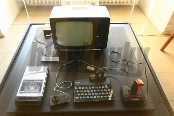 Filipov prvý počítač, legendárne ZX Spectrum.