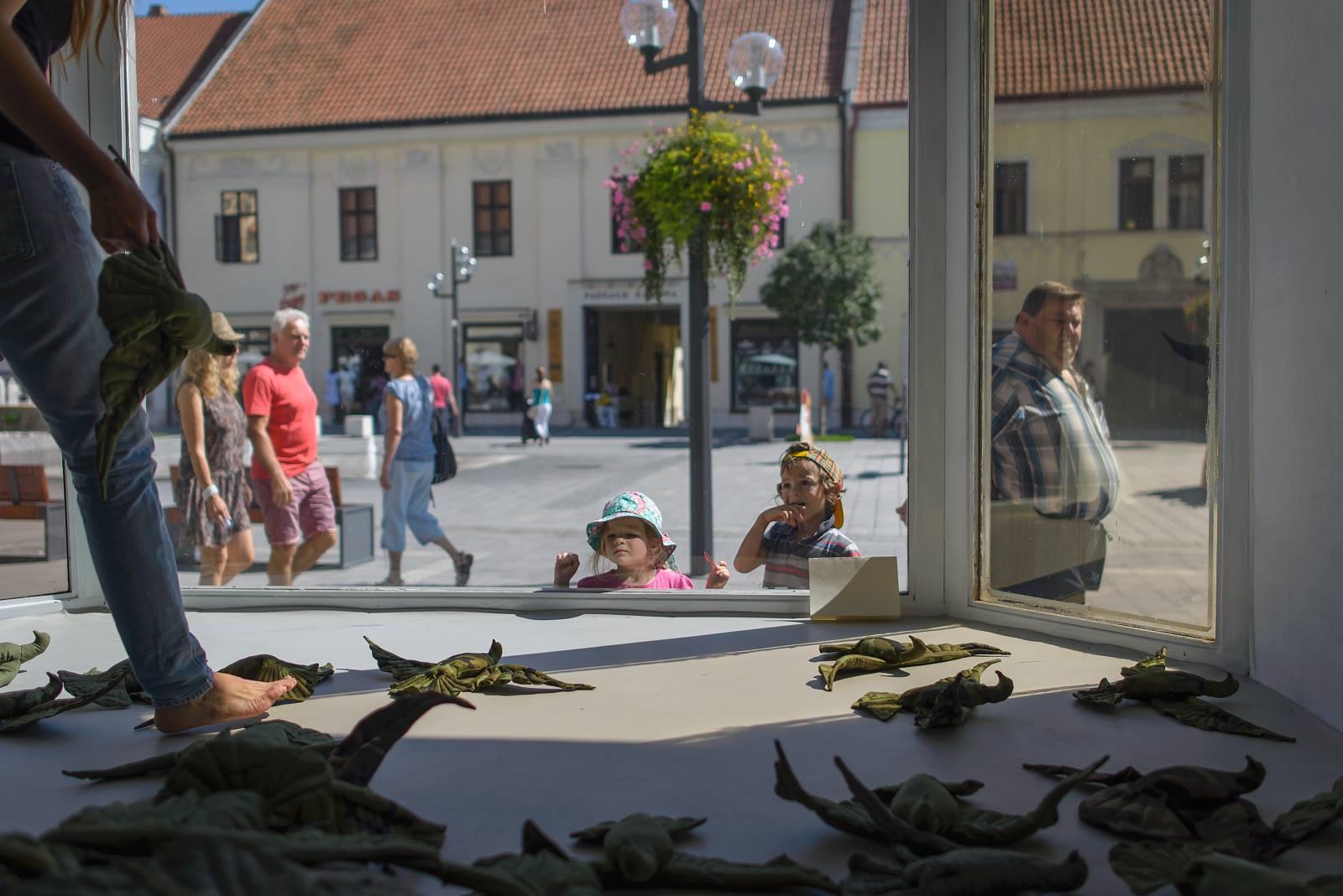Trnavská Galéria Výklad otvorila svoju tretiu výstavu: Kamufláž v podaní Martiny Chudej