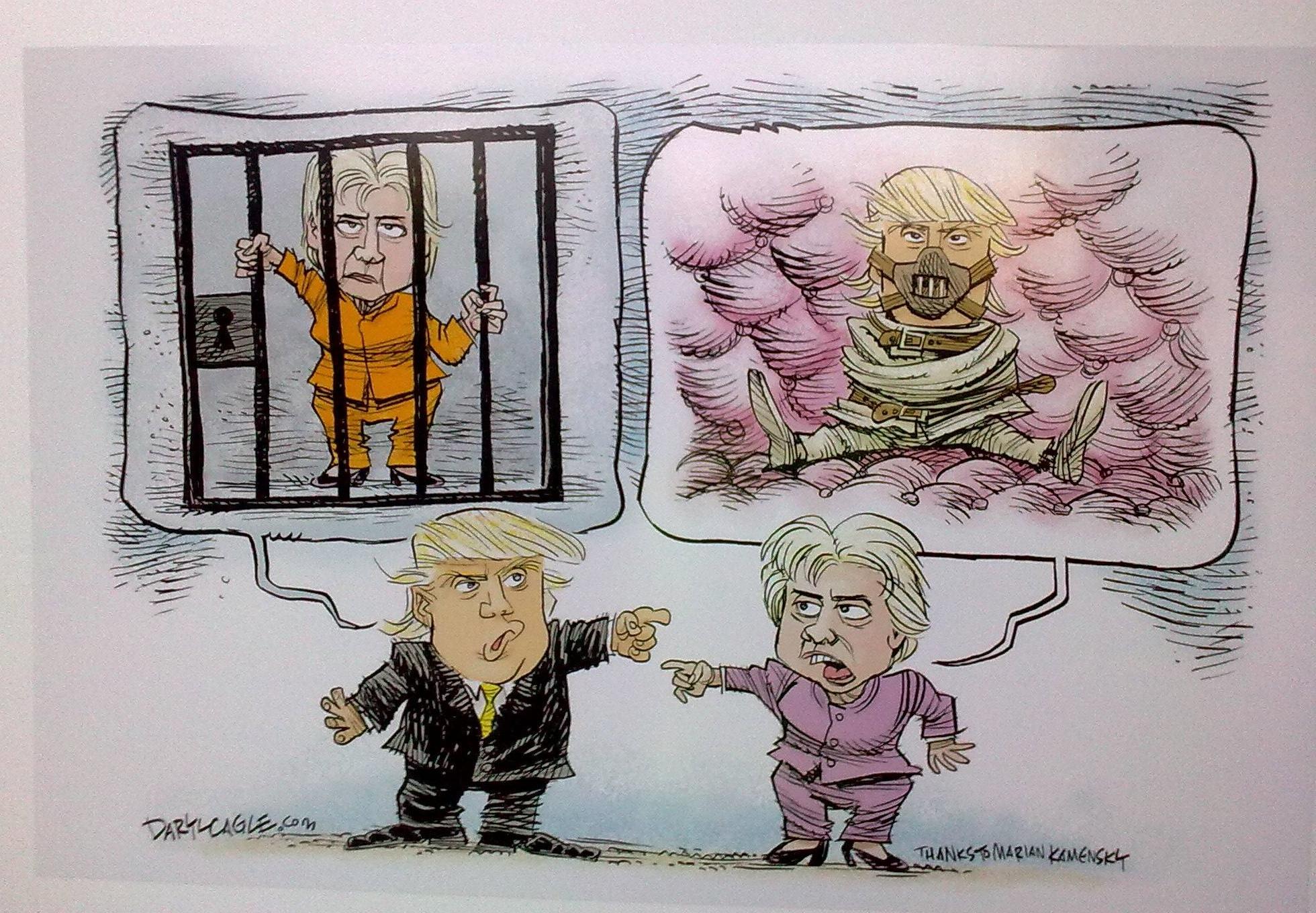 Šafárikovo námestie zaplnili karikatúry svetových politikov