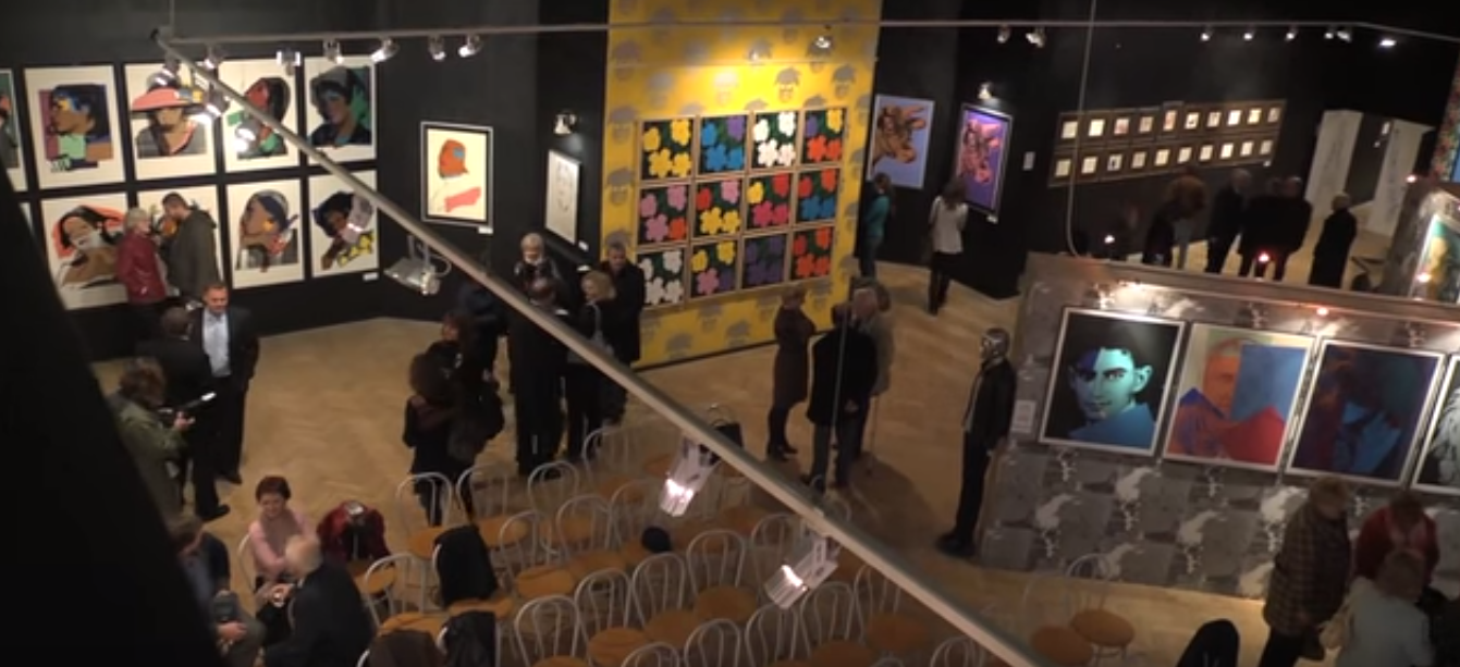 Múzeum v Medzilaborciach (zdroj: YouTube).