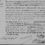 Rodný list pani Calment. Zdroj: wikipedia.org