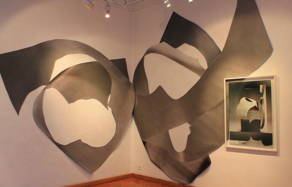 Expozícia autorky Anity Witek v Galérii Médium v Bratislave. Zdroj: Aneta Schmögerová