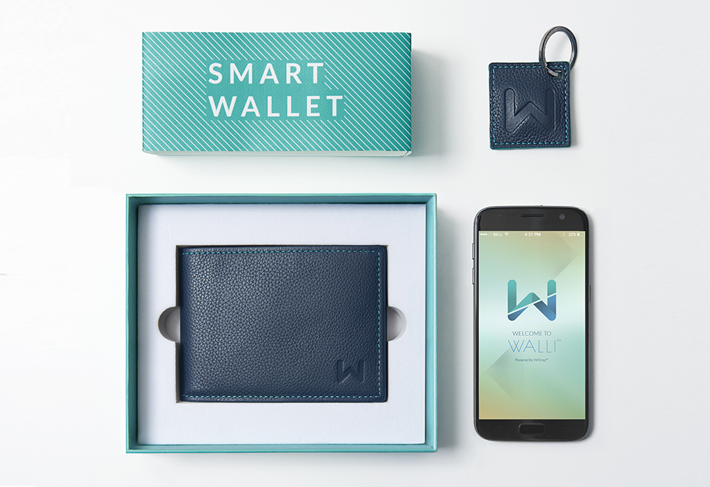 Inteligentná peňaženka, Bluetooth, Walli