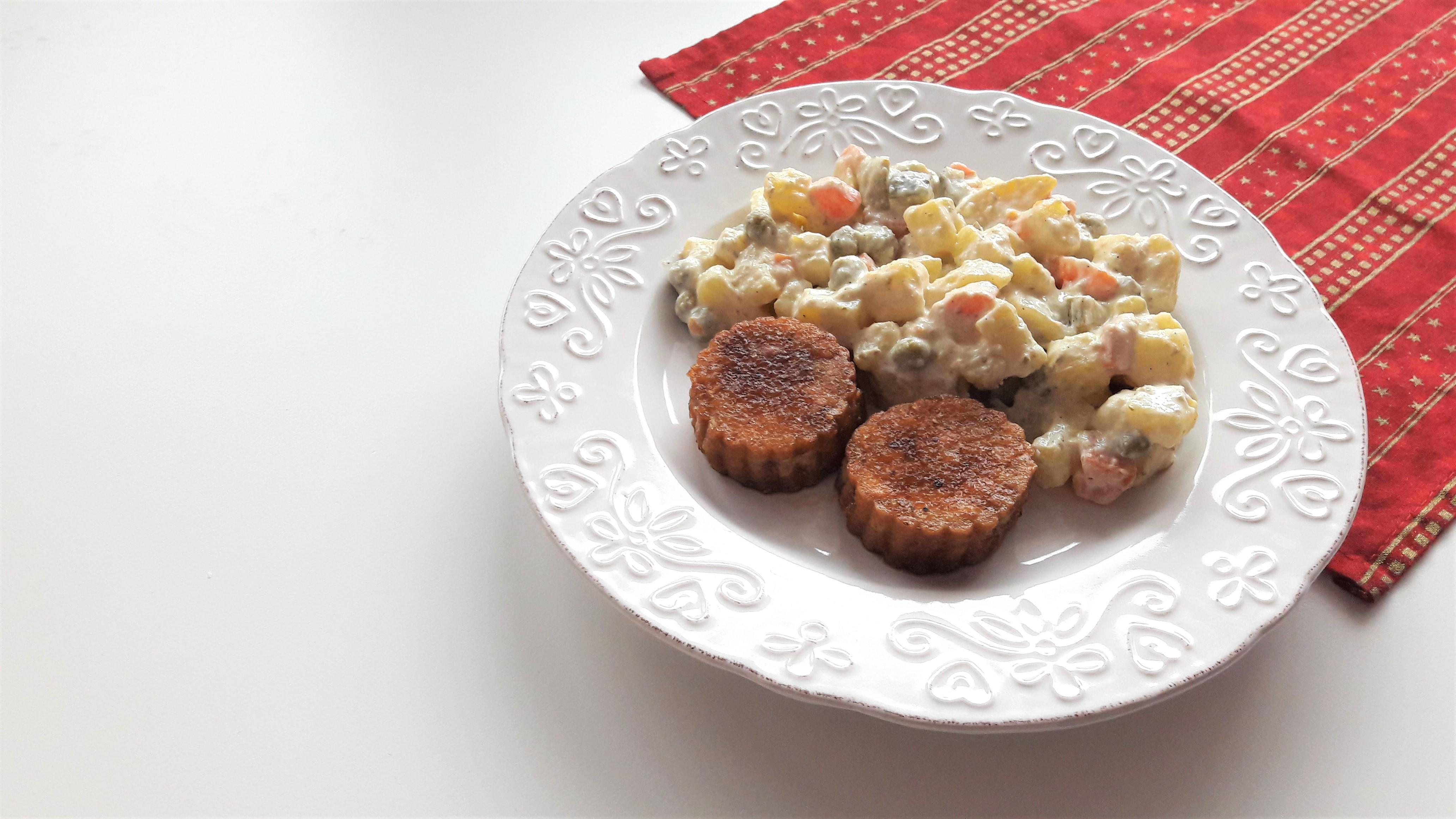 vegánsky zemiakový šalát
