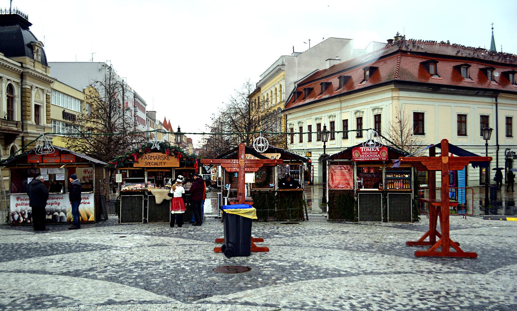 Vianočné trhy v Nitre. Zdroj: Jana Paveleková