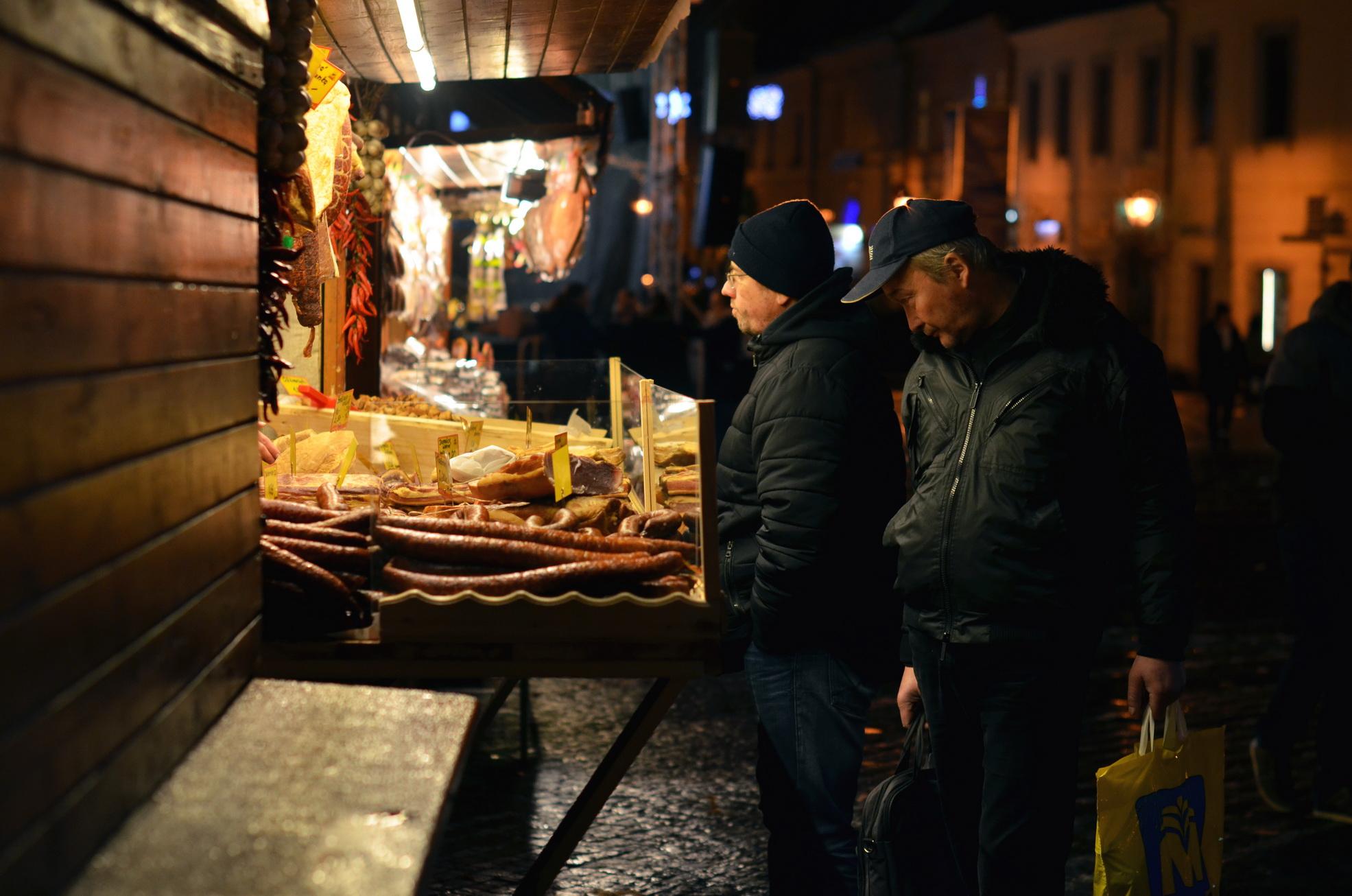 Vianočné trhy v Trnave. Zdroj: Magdaléna Tomalová