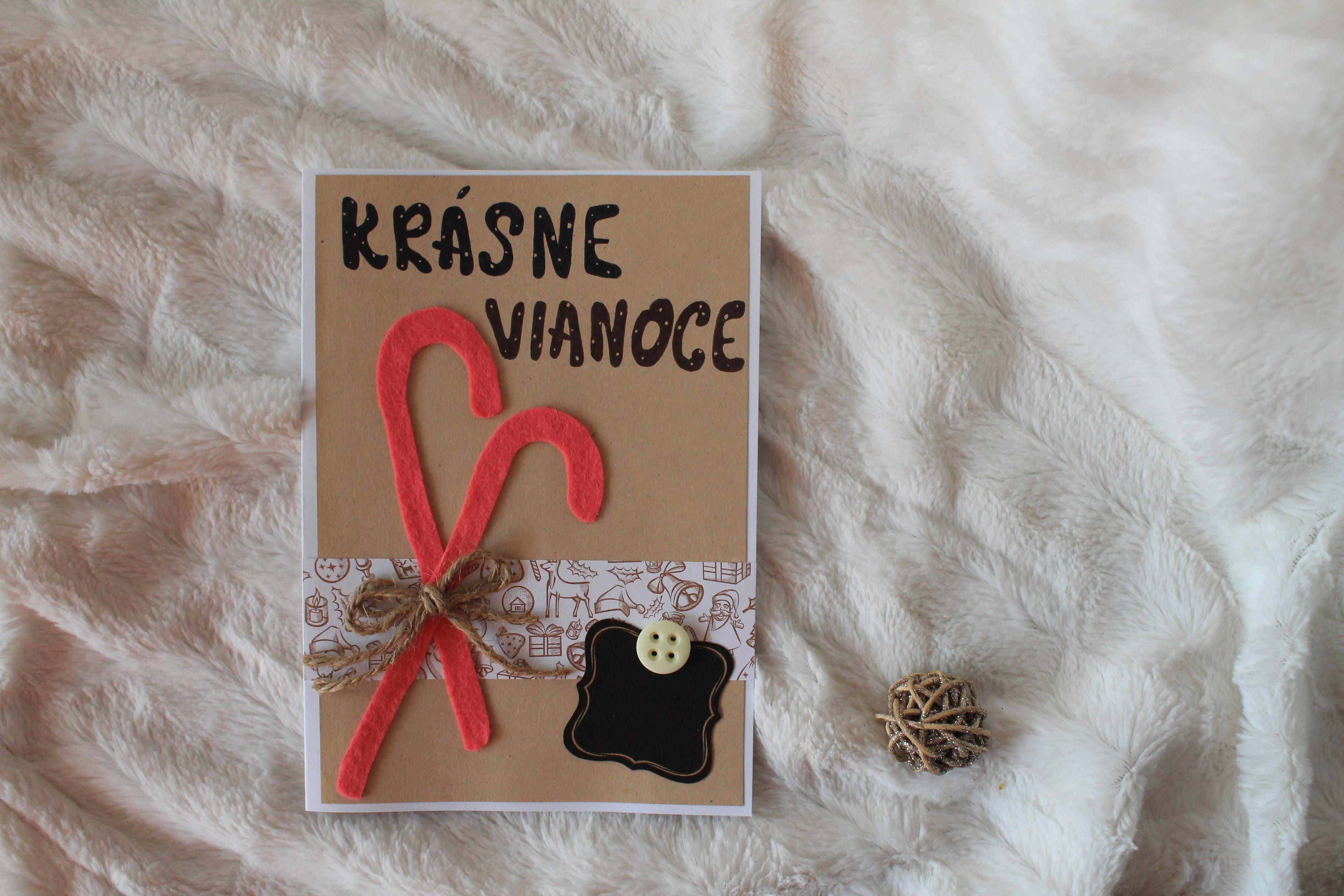 Vyrobte si vlastnú vianočnú pohľadnicu
