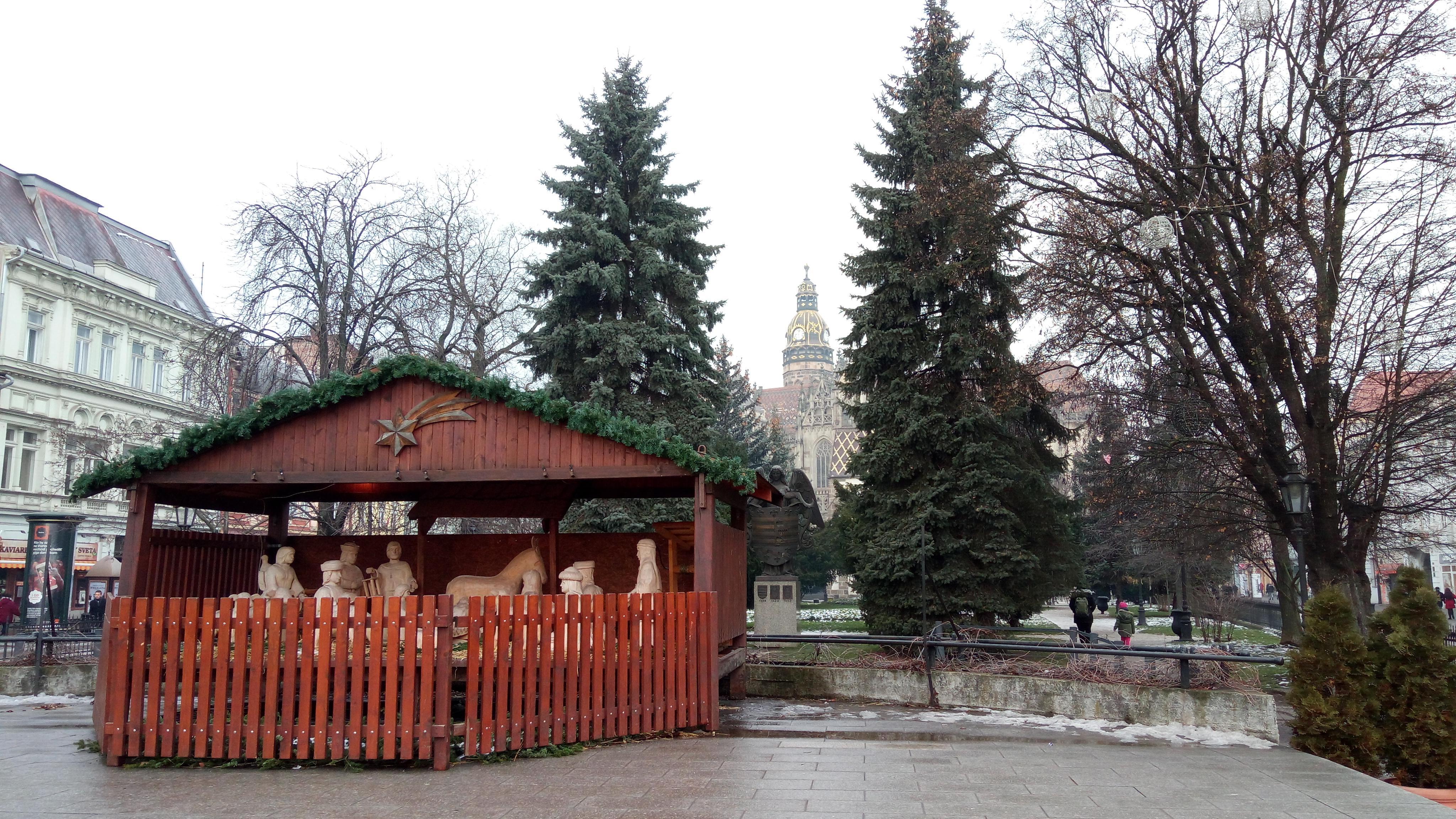Vianočný betlehem. Zdroj: Dávid Pastrik