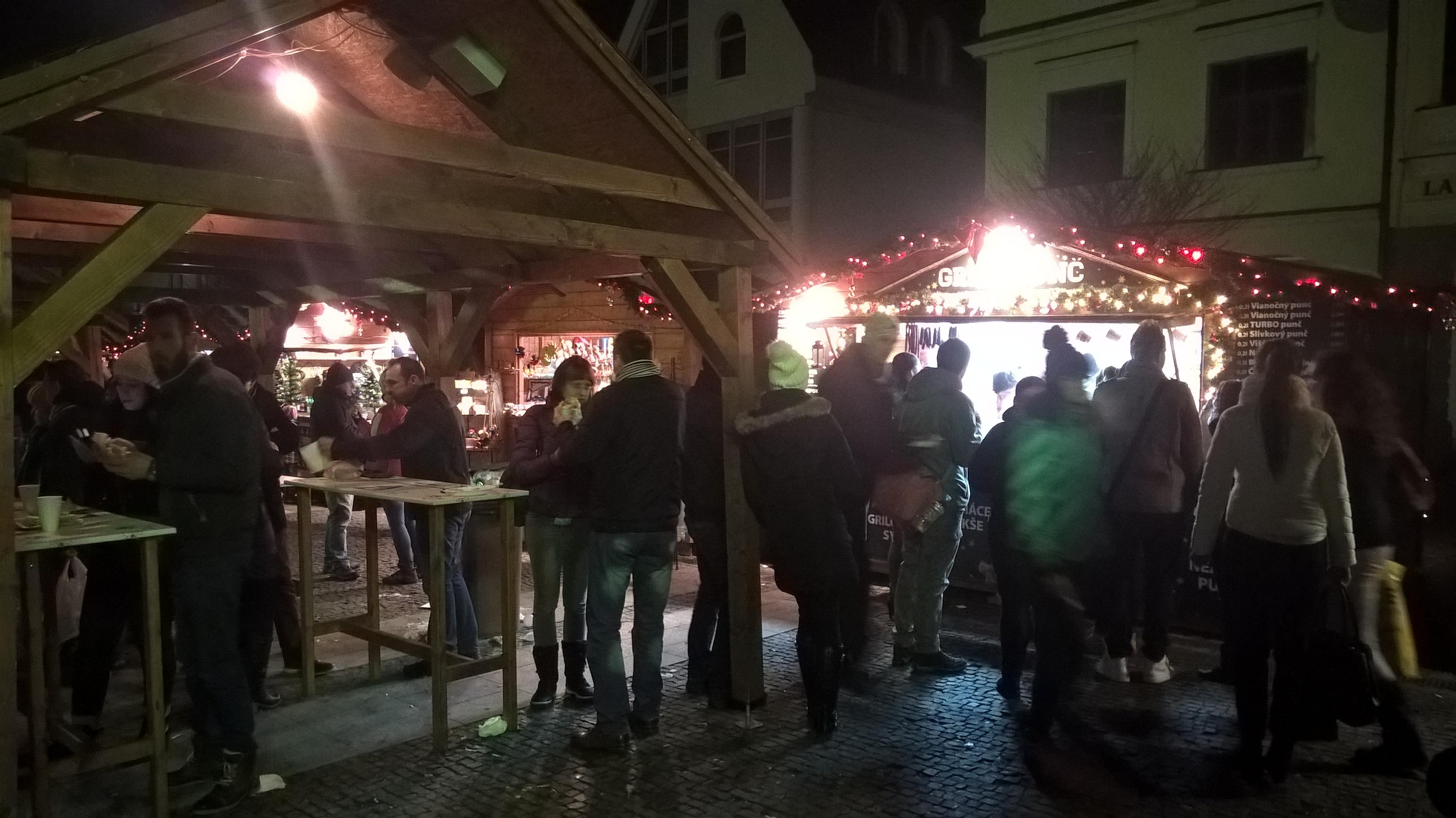 Vianočné trhy v Žiline. Zdroj: Filip Maxa