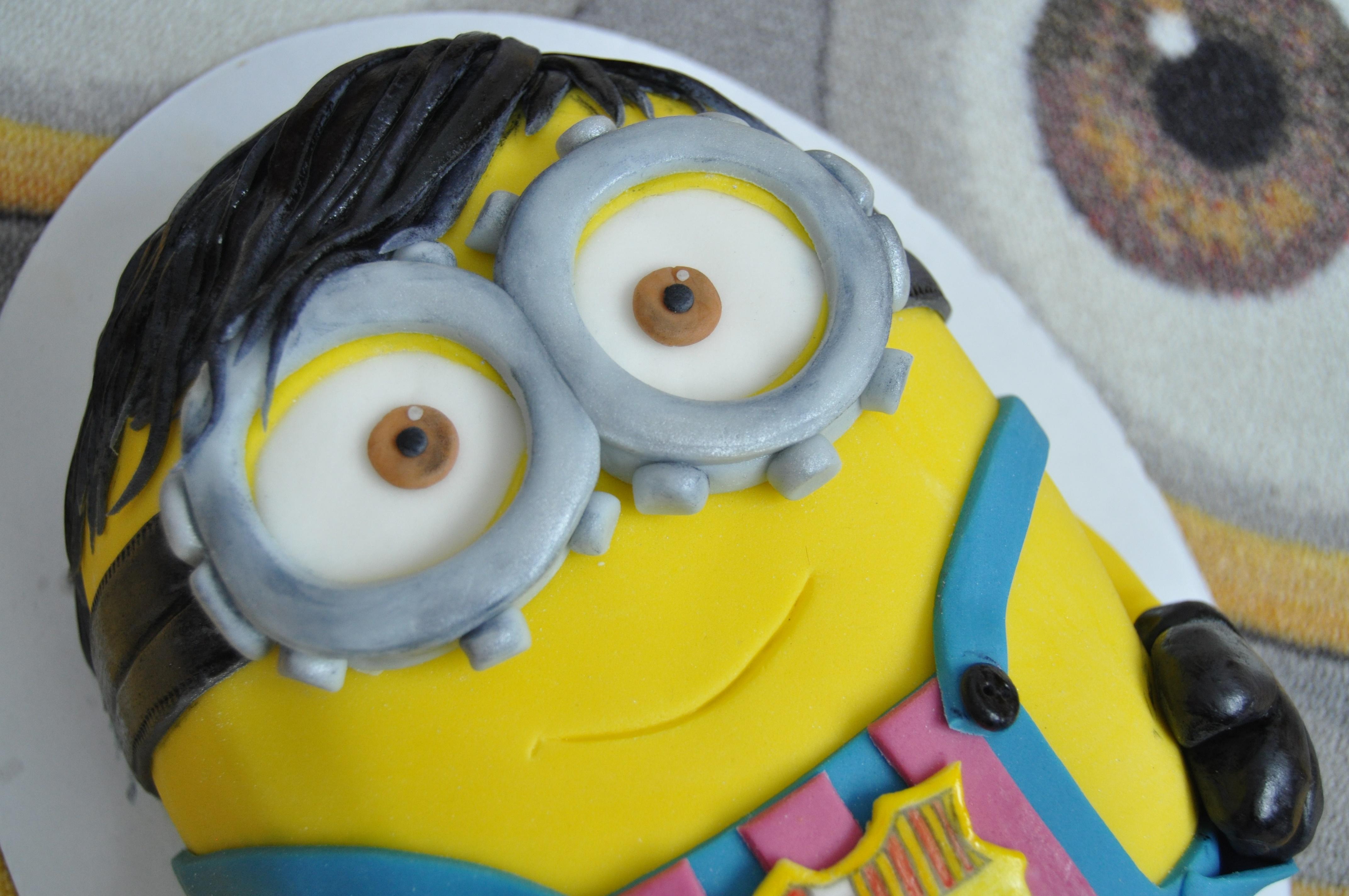 Kreatívna tortička mimoňa. Zdroj: Slávka Gracová
