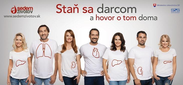 Transplantácie orgánov - Sedem životov