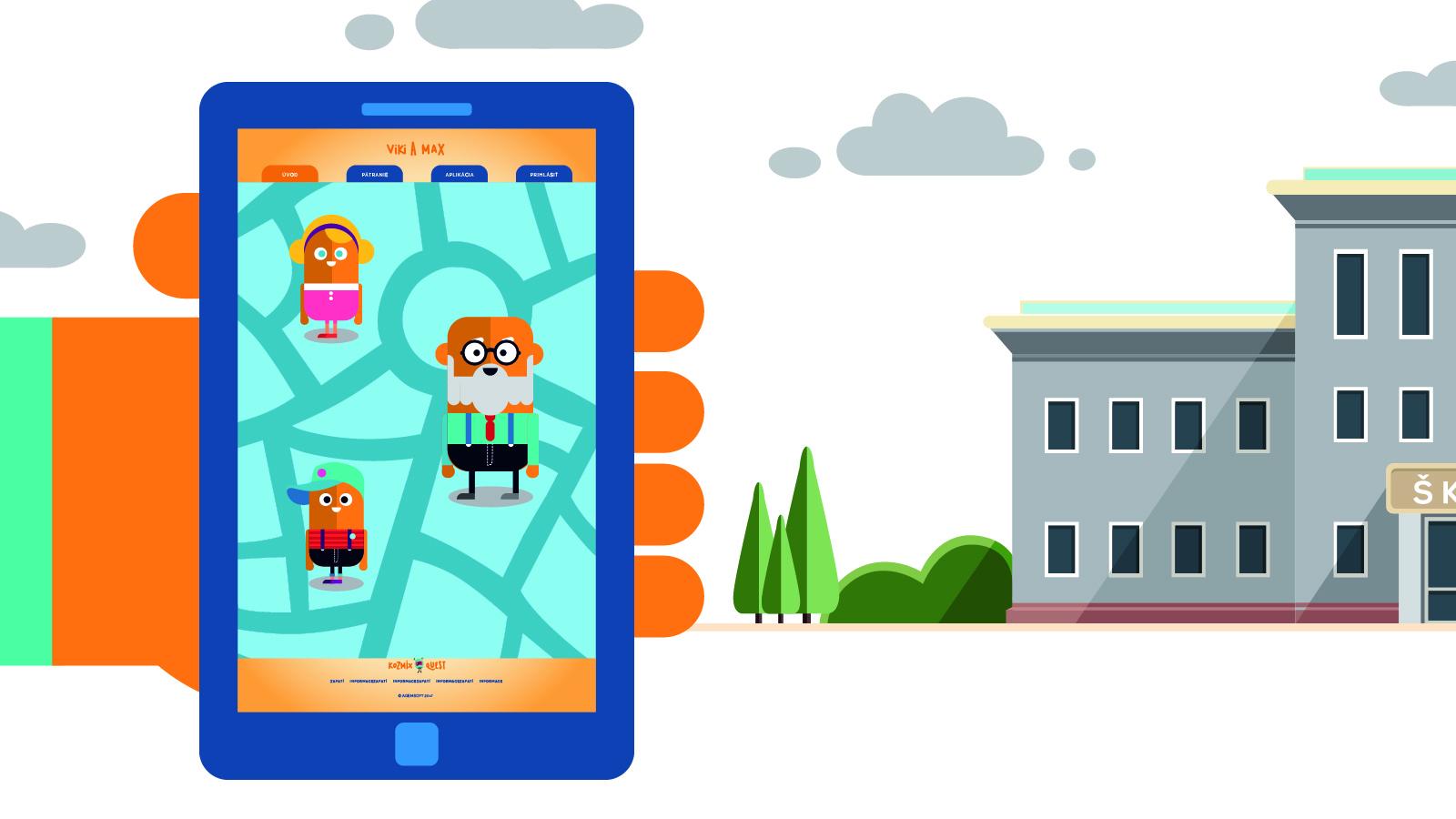 Nová mobilná hra deti zabáva, vzdeláva, ale aj motivuje k pohybu
