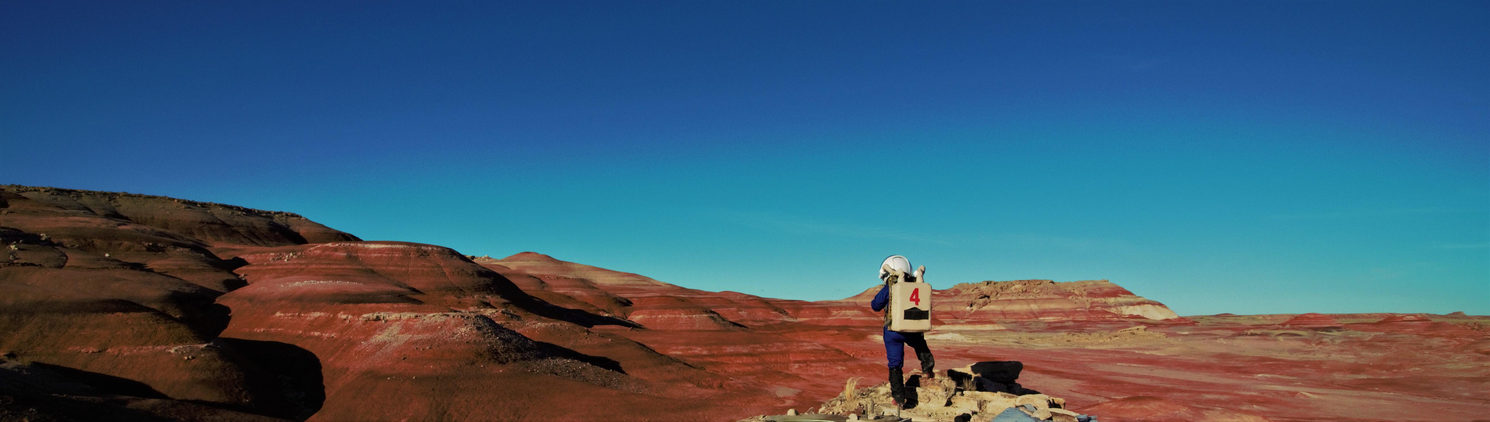 Púšť v Utahu sa najviac podobá na povrch Marsu.