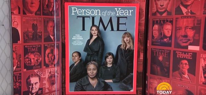 Osobnosťou roka sa stali The Silence Breakers: Ženy, ktoré prehovorili o sexuálnom obťažovaní