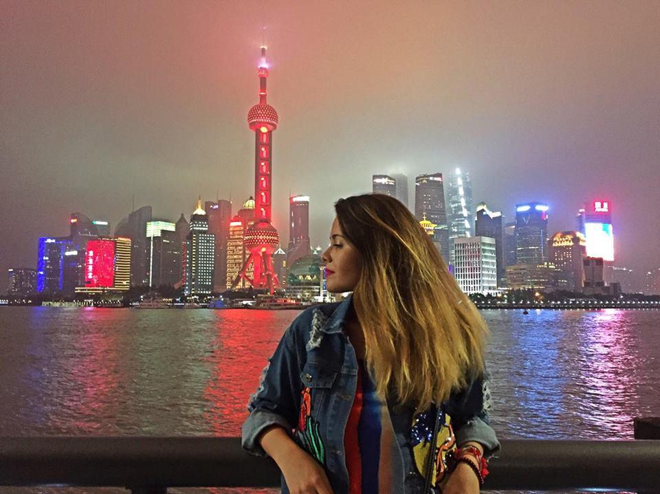 Výhľad na nádherný Shanghai. Zdroj: archív Pam Polákovej