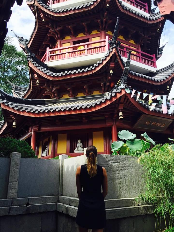 Chrám v bývalom hlavnom meste Číny, Nanking. Zdroj: Archív Pam Polákovej
