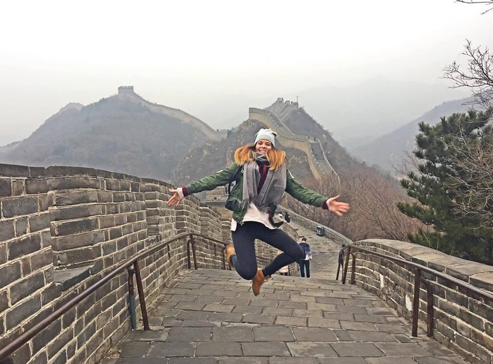 Návšteva Čínskeho múru. Zdroj: archív Pam Polákovej