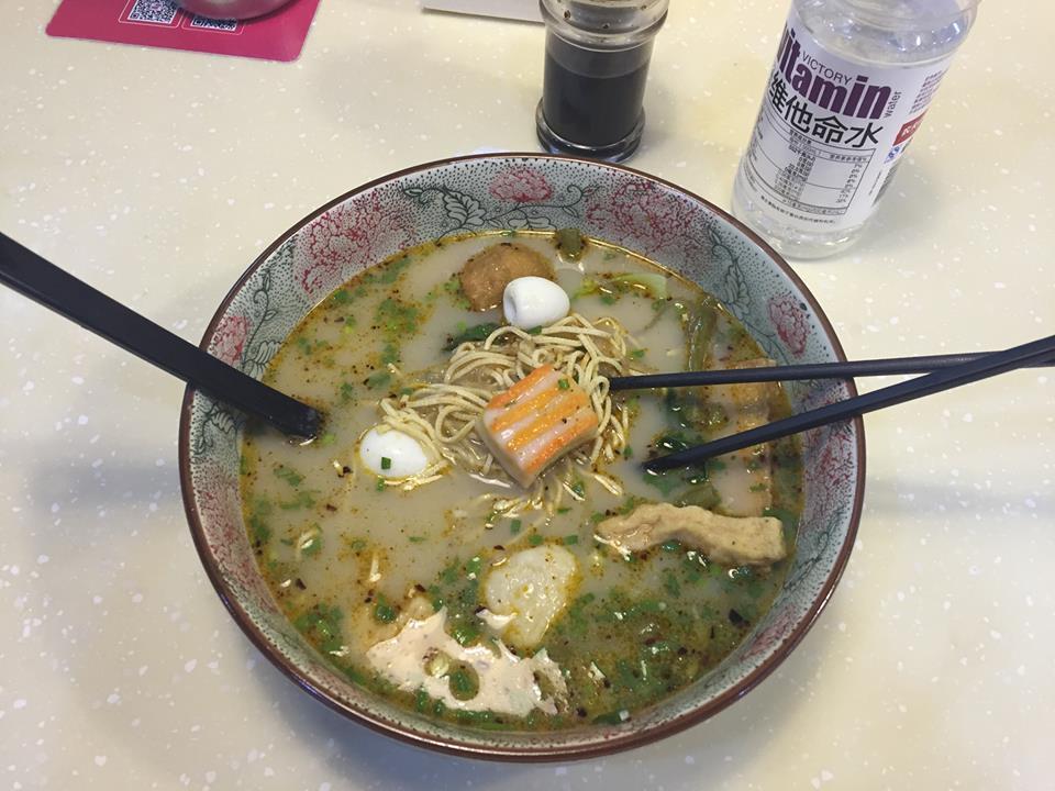 Pameline obľúbené jedlo - Ma La Tang 麻辣烫 Zdroj: archív Pam Polákovej