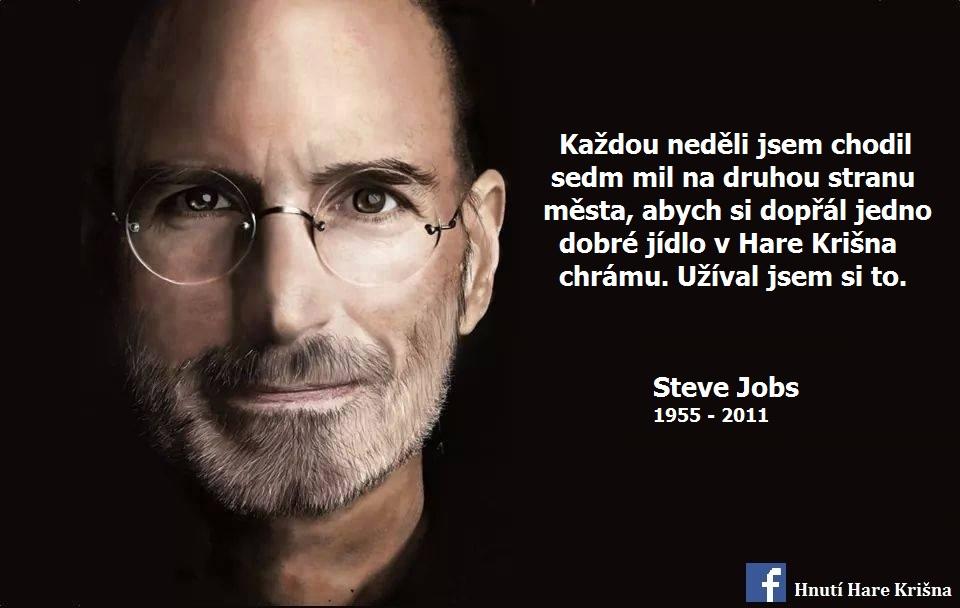 Steve Jobs Hare Krišna