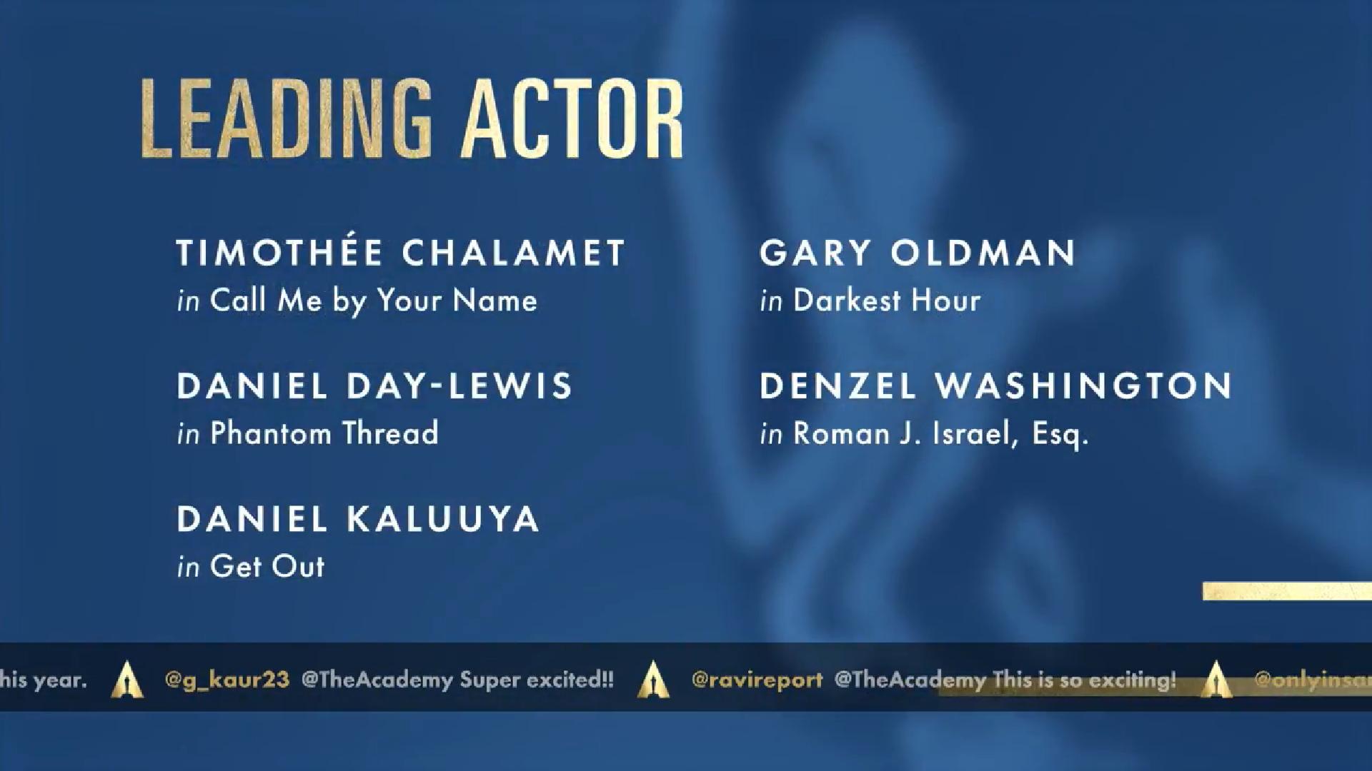 Najlepší herec