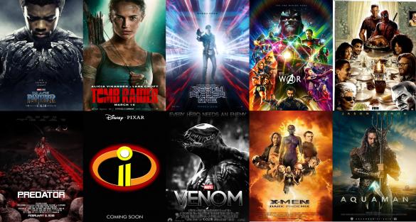 Najočakávanejšie filmy roku 2018