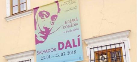 Výstava Salvadora Dalího na Slovensku: Ilustrácie k Božskej komédii, plastiky a maľby uvidíte len na jednom mieste