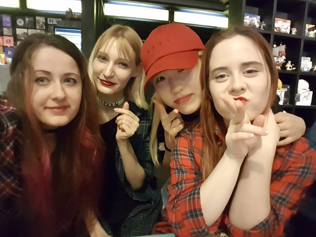 Barbora si Seoul užila naplno so svojimi kamarátkami. Zdroj: Barbora Mikulovičová